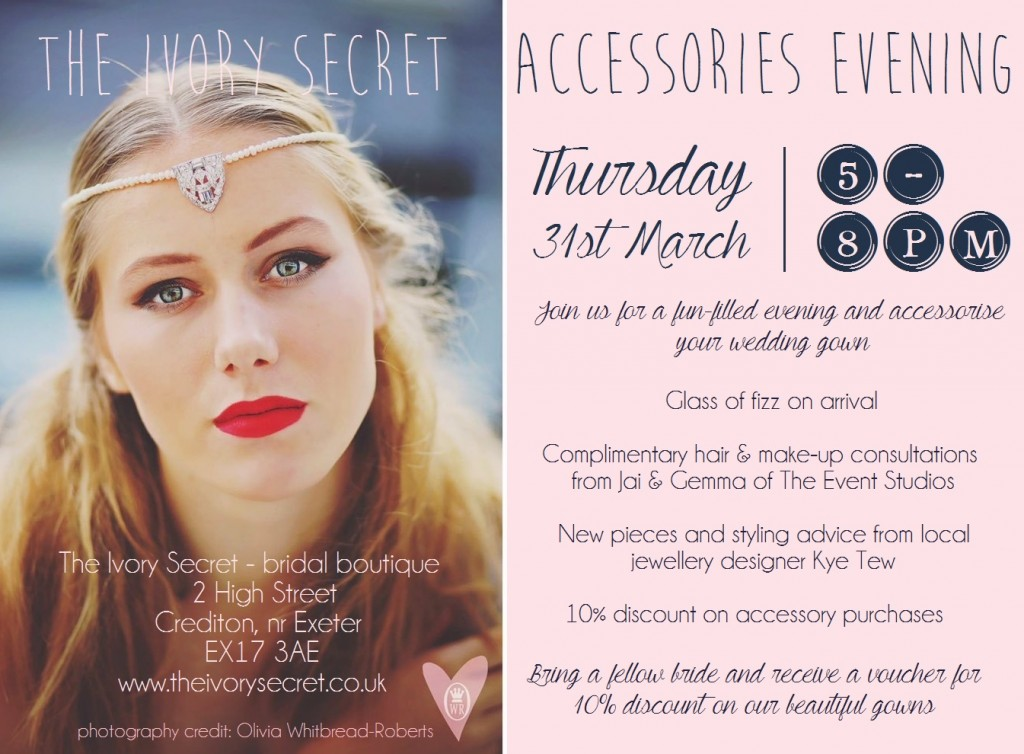 Spring Accessories Evening